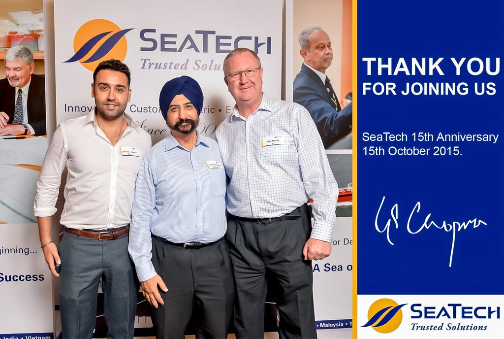 SeaTech's 15th Anniversary (15th October 2015)