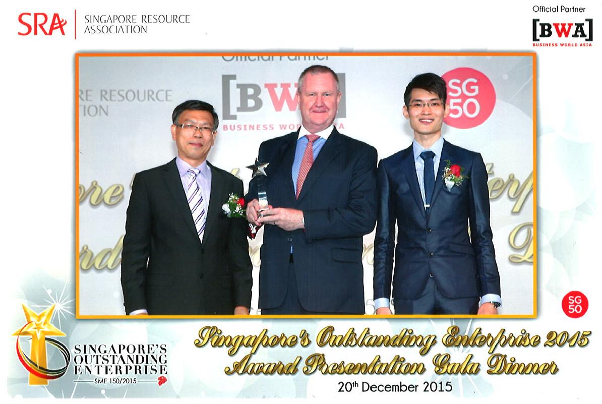 Singapore's Outstanding Enterprise 2015.