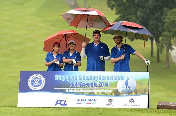 SSA Golf Friendly 2014
